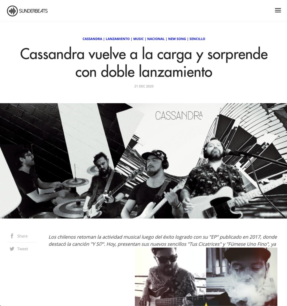 Sunderbeats-Cassandra-Prensa-Chile-Tus-Cicatrices-Fumese-Uno